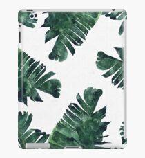 Bananen-Blatt #Watercolor Pattern # redbubble iPad-Hülle & Klebefolie