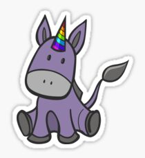 Donkey-corn Sticker