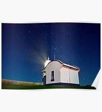 Crowdy Head Lighthouse - The Milky Way Poster