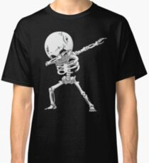 Dabbing Skeleton Halloween Funny Zombie Dab Dance T Shirt Classic T-Shirt