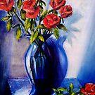 Blue Vase by Ciska
