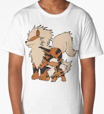 Arcanine & Growlithe Long T-Shirt
