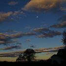 Evenings First Light by Larry Llewellyn