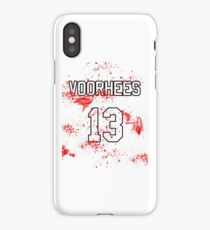 Jason Voorhees Jersey iPhone Case/Skin