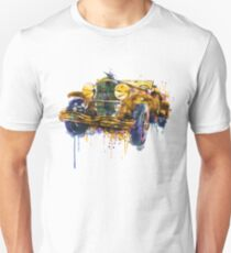 Oldtimer Automobile in watercolor T-Shirt