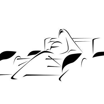 Minimalist Formula Race Car - Black by FelixR1991