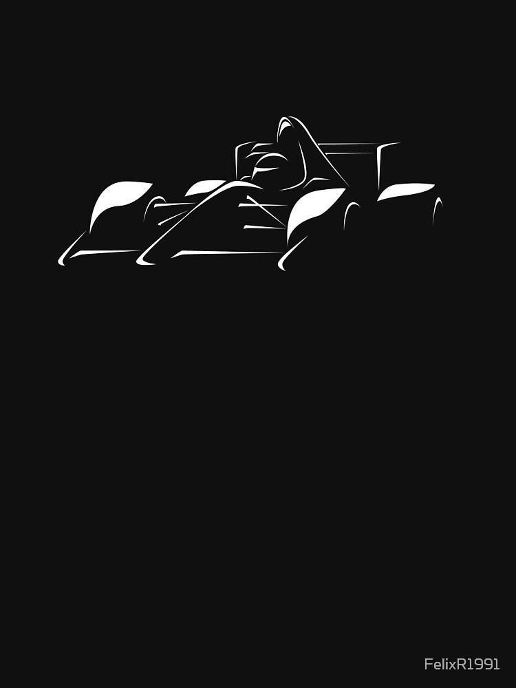 Minimalist Formula Race Car - White by FelixR1991