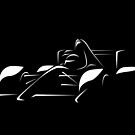 Minimalist Formula Race Car - White by FelixR1991