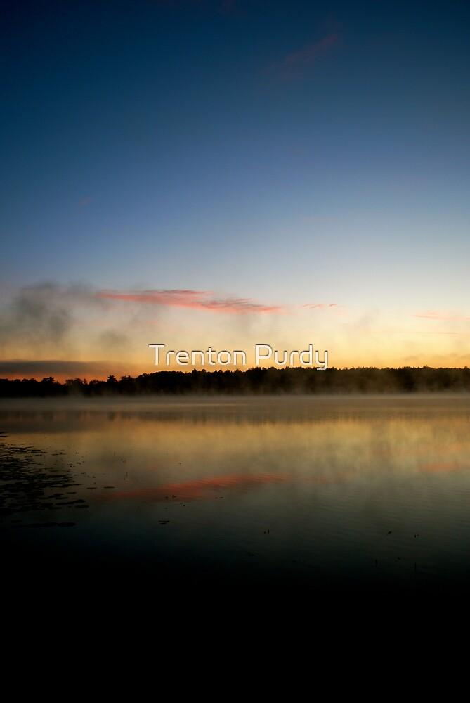 Sunrise Lake by Trenton Purdy
