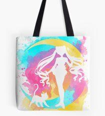 Glücklicher Wächter Sailor Moon Tote Bag