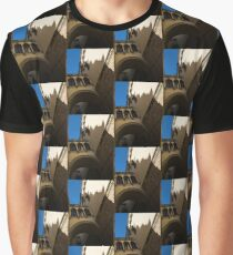 Barcelona's Marvelous Architecture - Shapes and Shadows Graphic T-Shirt