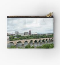 Historic Stone Arch Bridge - Minneapolis, MN, USA Studio Pouch