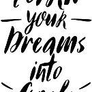 Verwandle deine Träume in Ziele von BekkaCampbell