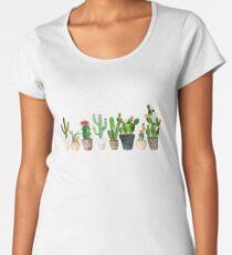 Cactus Women's Premium T-Shirt