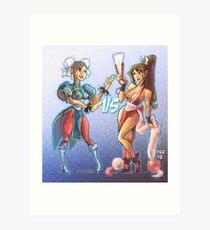 Capcom VS SNK Art Print