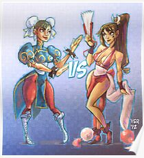 Capcom VS SNK Poster