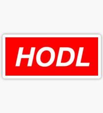 HODL Streetwear - Supreme Logo Sticker