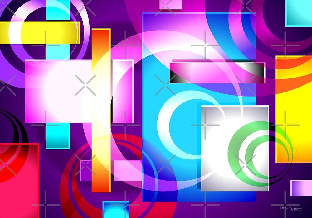 SONIKUS Abstract Art #03 by Elkin Grueso