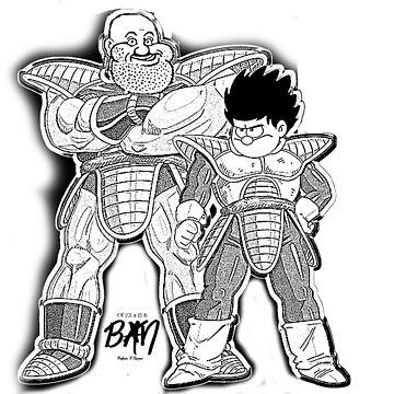 Beano X Dragon Ball by j-defenser
