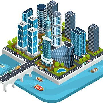 Isometric City by Gamerama