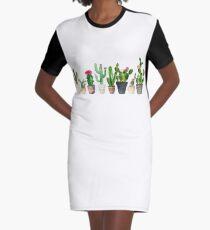 Kaktus T-Shirt Kleid