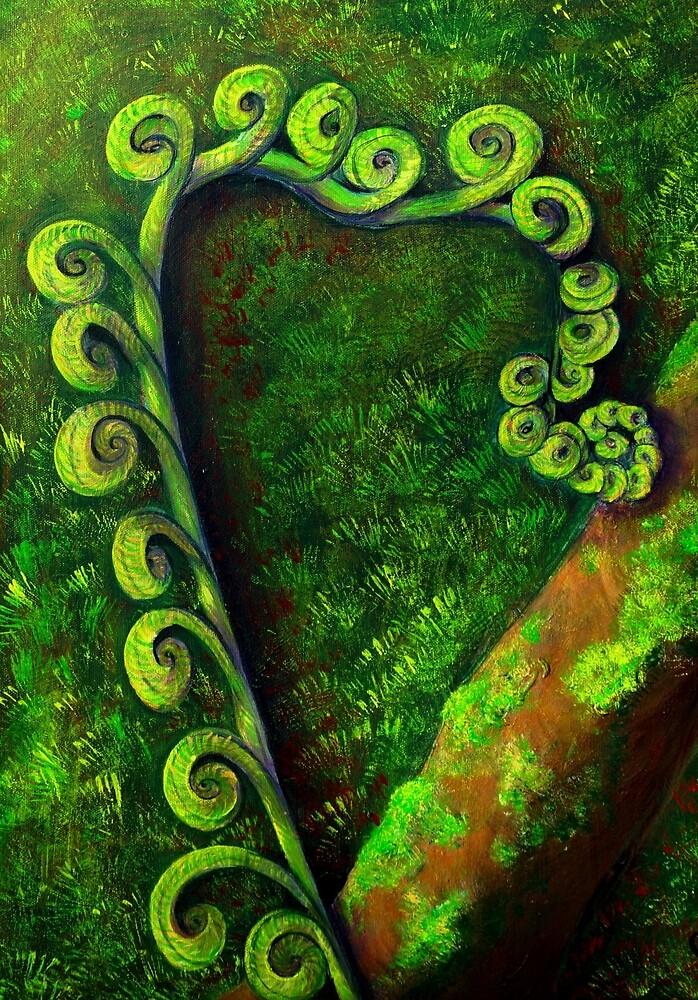 Forest Fern by Ciska