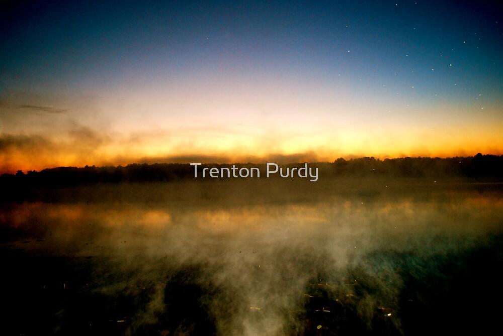 Fog Lake by Trenton Purdy