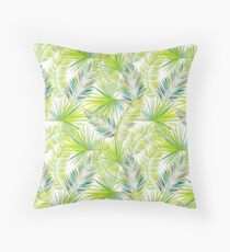 Palm Leaves #1 Throw Pillow