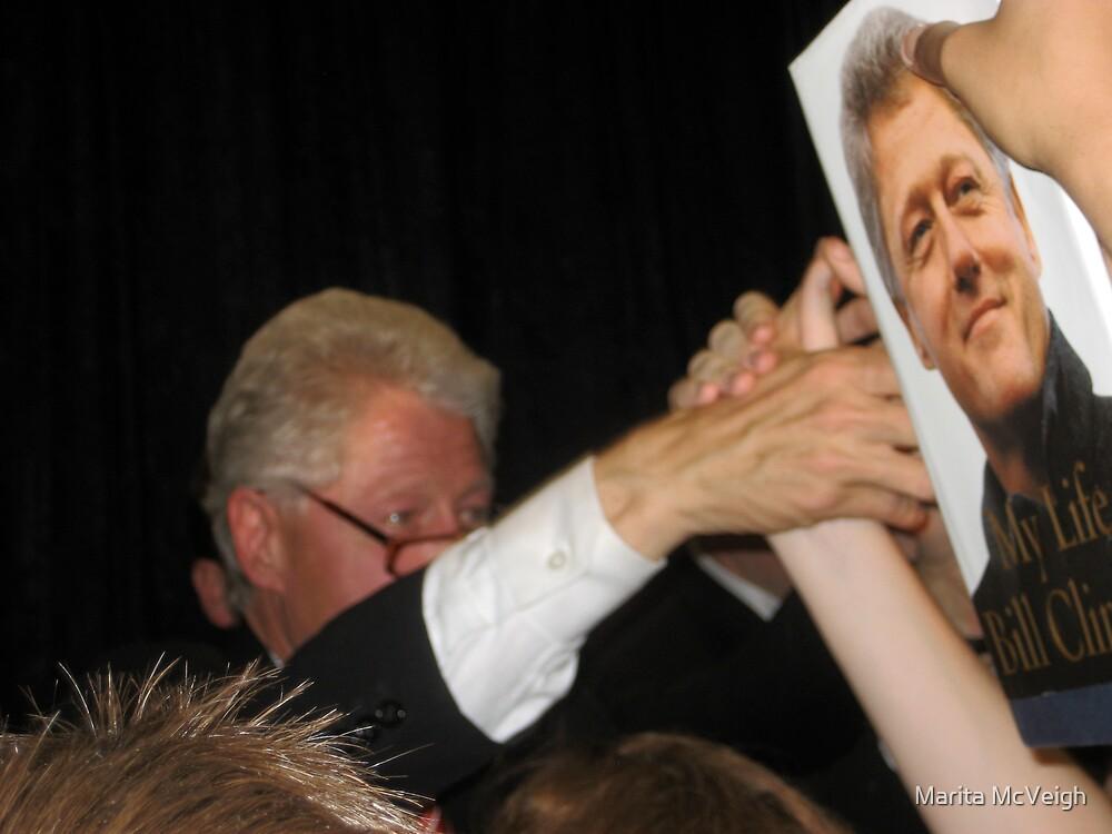 Bill Clinton by Marita McVeigh