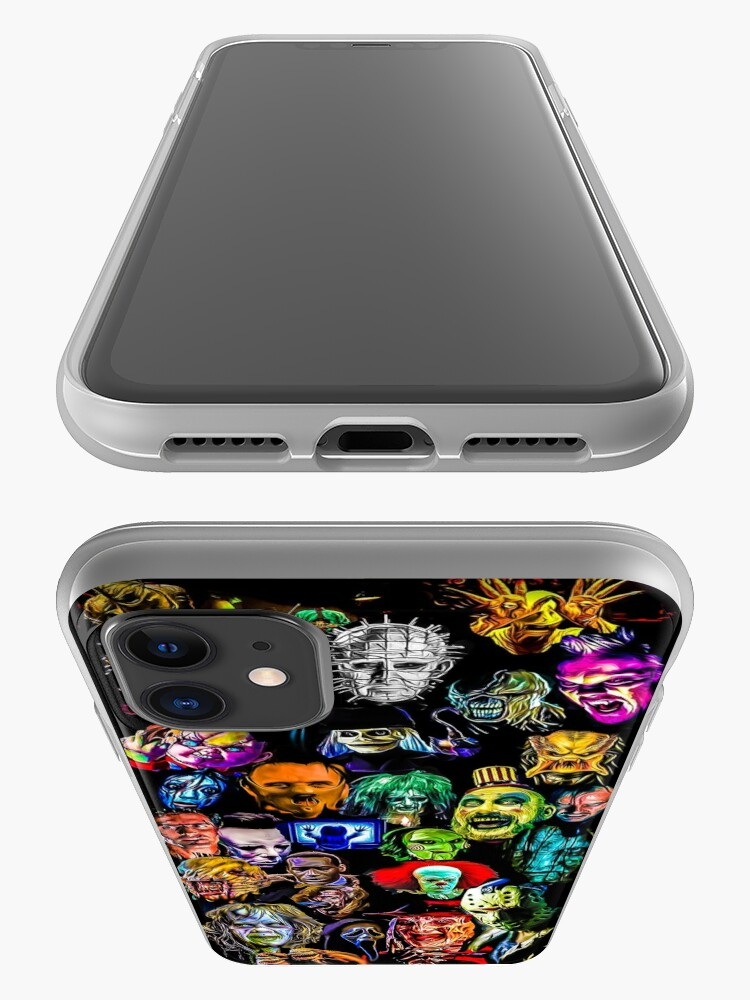 Alternate view of horror collection  iPhone Case & Cover