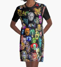 horror collection  Graphic T-Shirt Dress