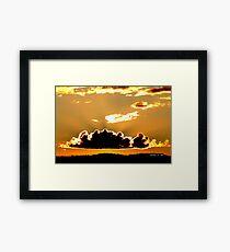 WILDERNESS SUNSET Framed Print