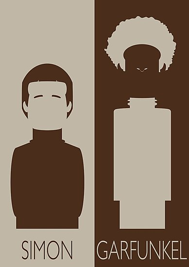 Simon and Garfunkel by Mrdoodleillust