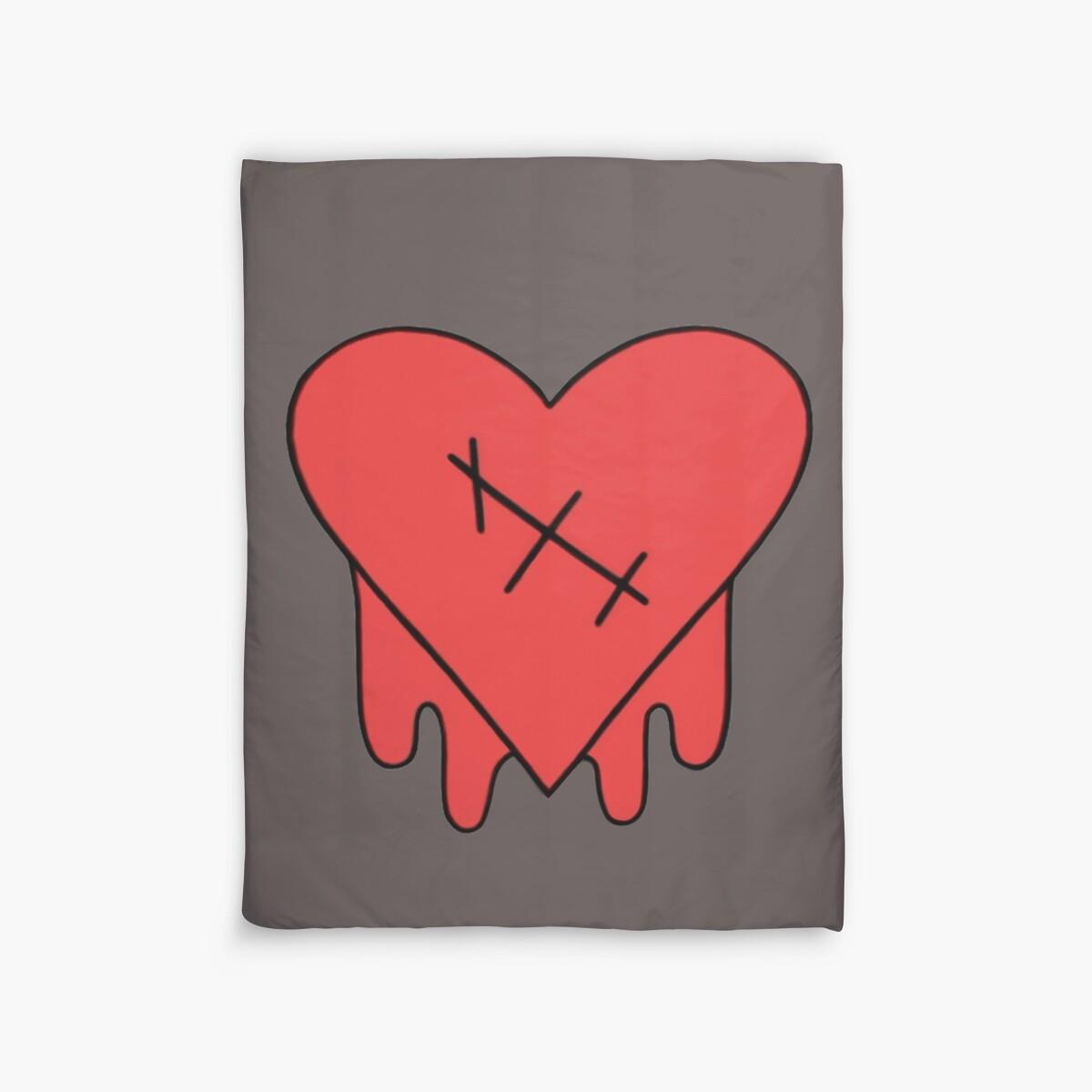 Quot Gravity Falls Robbie V S Edgy On Purpose Heart Quot Duvet