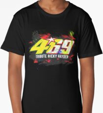 Valentino Rossi Tribute To Nicky Hayden Long T-Shirt