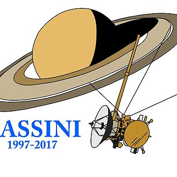 Cassini 1997-2017 by JeepsandPlanes