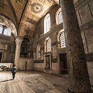 Inside the Hagia Sophia -1 by hayrettinsokmen