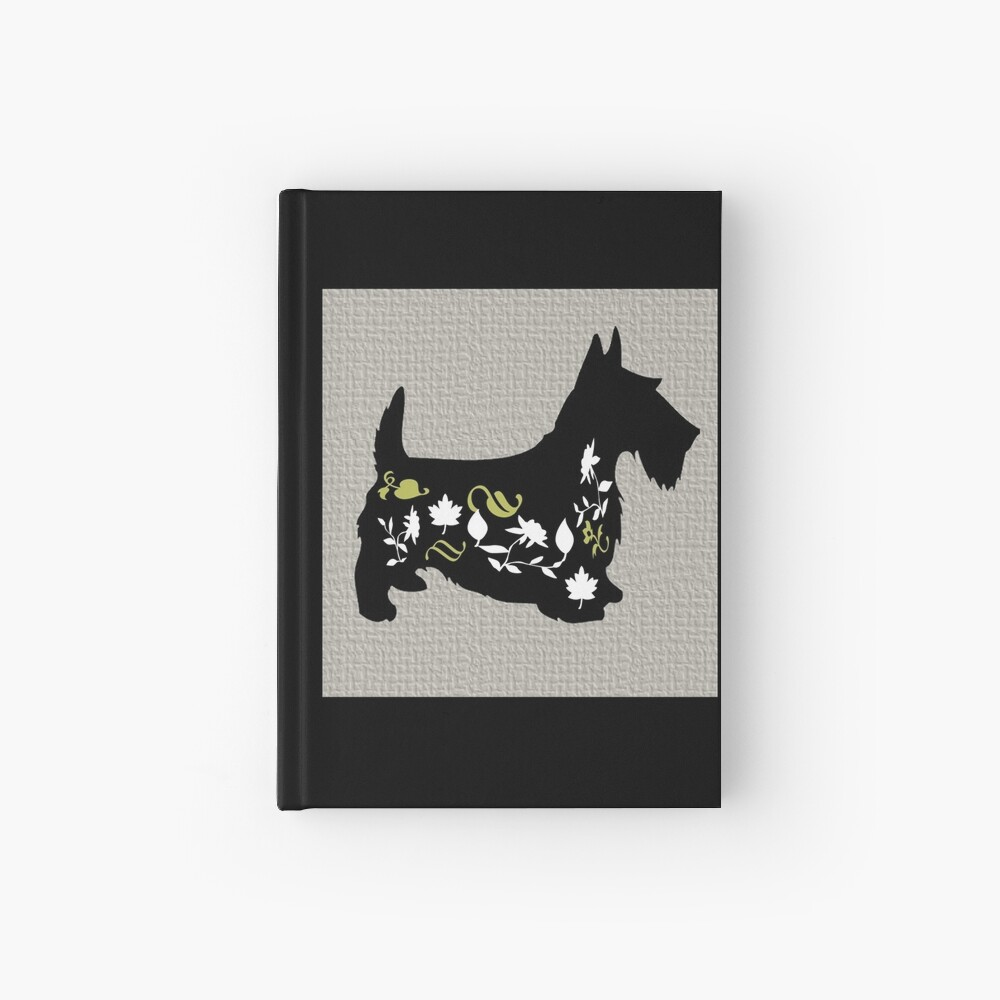 Beautiful Cushions/ Lucky Dog|Scotty Mcflowers Hardcover Journal