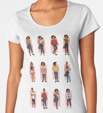 Bill Potts Outfits - The Pilot Women's Premium T-Shirt