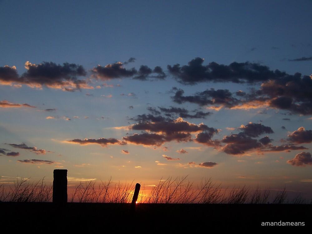 Simple Sundown by amandameans