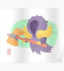 Cute Master Sevarog Paragon Fan Design Poster