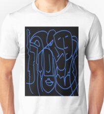 AP Number 11 Portrait blue Unisex T-Shirt
