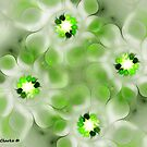 Water Daisies by Bunny Clarke