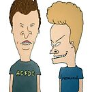 Beavis and Butthead by red-rawlo
