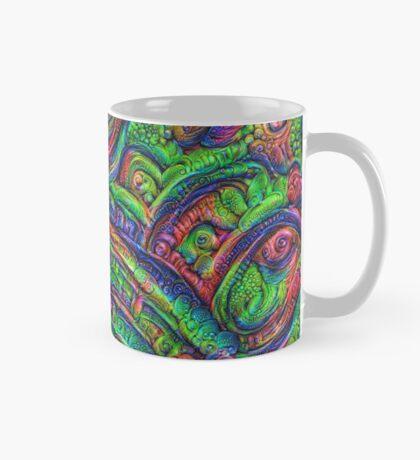 Green #DeepDream Mug
