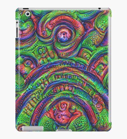 Green #DeepDream iPad Case/Skin