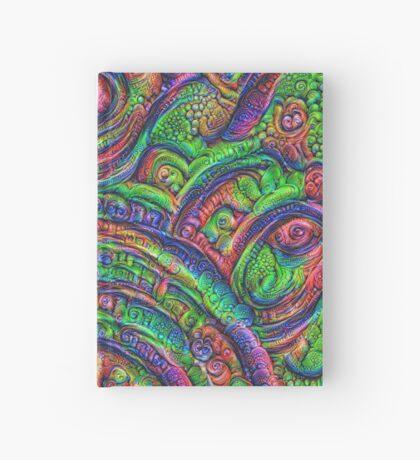 Green #DeepDream Hardcover Journal