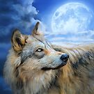 Wolf Glow by Carol  Cavalaris