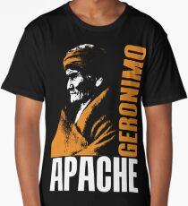 GERONIMO-APACHE Long T-Shirt
