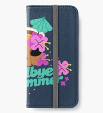 Goodbye Summer iPhone Wallet/Case/Skin